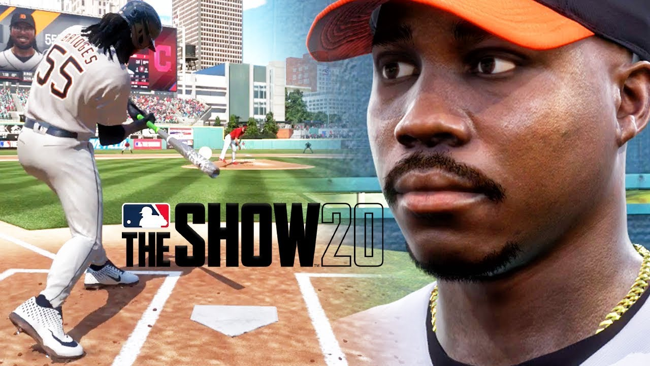Hitting HOME RUN in 1ST GAMEPLAY! MLB THE SHOW 20 Road to the Show Ep 1