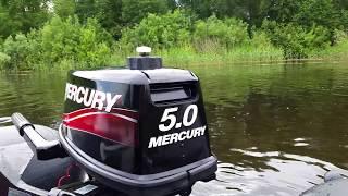 ривьера 3200  Mercury 5. Максимальная скорость