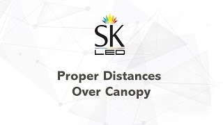 Spectrum King LED | Distance over Canopy LED Grow Lights Best Practices