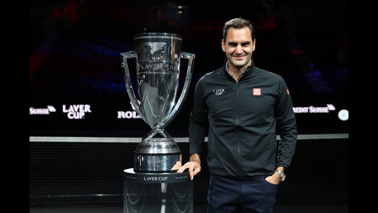 Roger Federer Arrives In Boston For Laver Cup | ATP Tour | Tennis