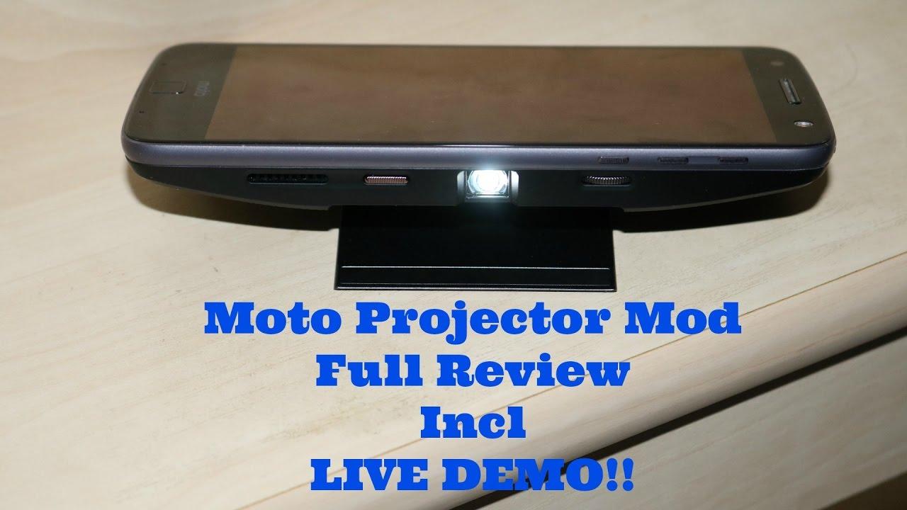 moto projector mod. Moto Projector Mod