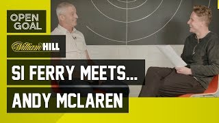 Si Ferry Meets.. Andy McLaren - Dundee Utd & Jim McLean, Failing drugs test, Comeback & Scotland Cap