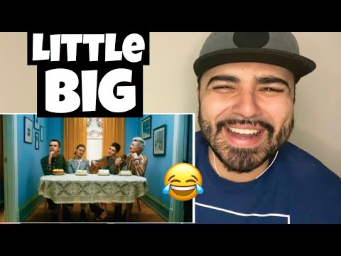 Reacting to LITTLE BIG - GO BANANAS (Official Music Video)