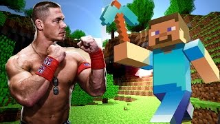 Minecraft - John Cena Entrance