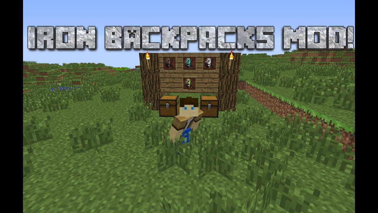 iron backpacks upgrades
