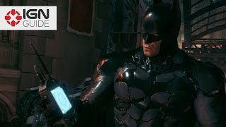 Batman Arkham Knight Own The Roads Founders Island Locations Youtube