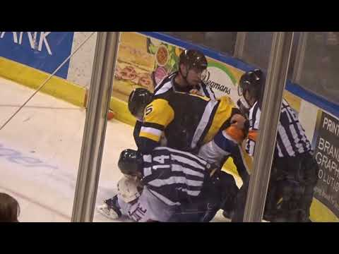 Tom Sestito WBS vs Yanick Turcotte Bridgeport 03-25-2018