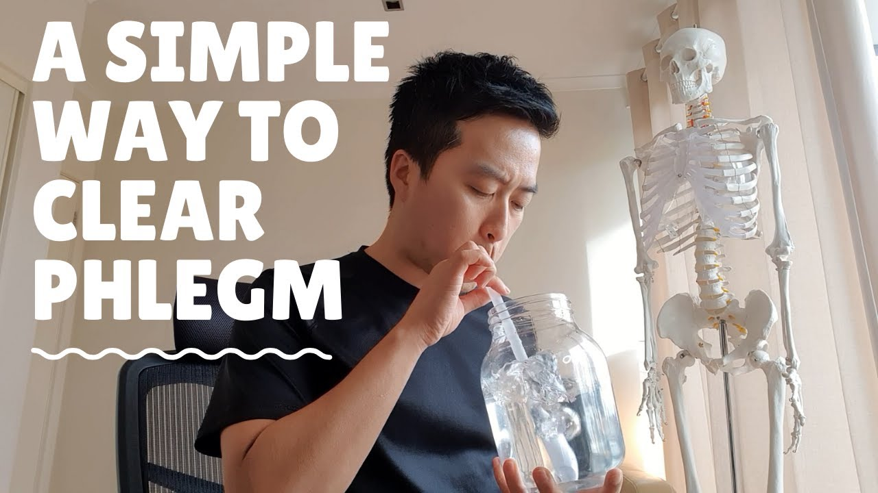 Clear phlegm now! how to get rid of sputum: cold, flu, pneumonia