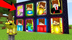 ISMETRG PORTALLARI BULDUM HANGİSİNİ SEÇECEĞİM? 😱 - Minecraft