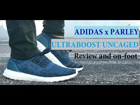 ADIDAS x PARLEY ULTRABOOST UNCAGED (review and on foot video)
