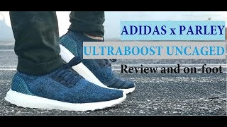 f8c10332f1f99 ADIDAS x PARLEY ULTRABOOST UNCAGED (review and on foot video) ...