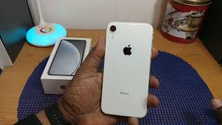 Apple iPhone Xr Unboxing (White)