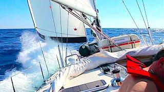 Обучение яхтингу в школе ЯХТ ДРИМ. ЭПИЗОД 1. ЗНАКОМСТВО С ЯХТОЙ.