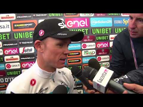 Chris Froome - Post-race interview - Stage 14 - Giro d'Italia / Tour of Italy 2018
