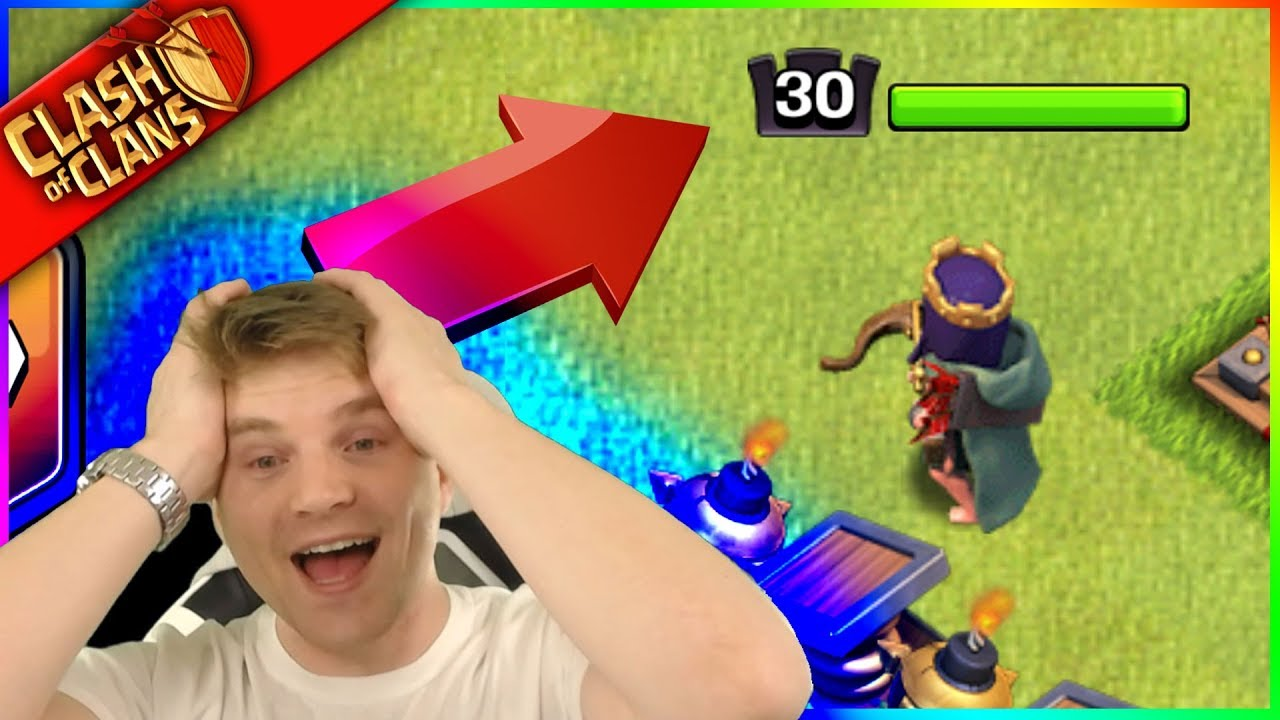 """""""WE JUST FARMED THIS!!"""" Level 30 ARCHER QUEEN in Clash of Clans"""