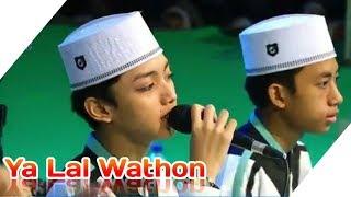 Jama'ah Semangat Sholawat Ya Lal Wathon Di SMAN 1 Prambon Bersama Gus Azmi Dan Syubbanul Muslimin