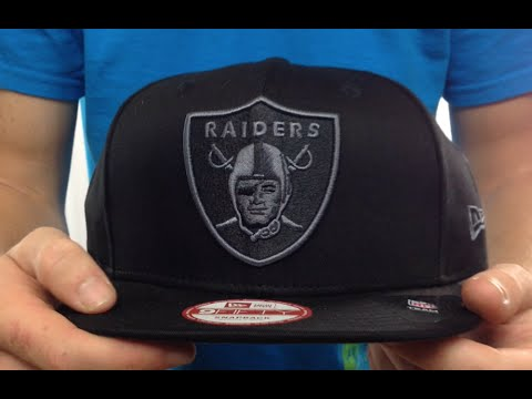 d1911c60f5c84 Raiders  FADEOUT SNAPBACK  Black-Grey Hat by New Era - YouTube