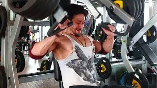 Tiger Shroff Six Pack Bodybuilding Gym Workout For War Movie