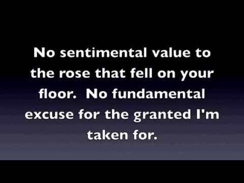 Alanis Morissette - Wake Up (Karaoke Video - Original Studio Recording)