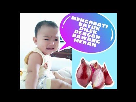 Cara mengobati batuk pilek pada bayi #bawang merah - YouTube