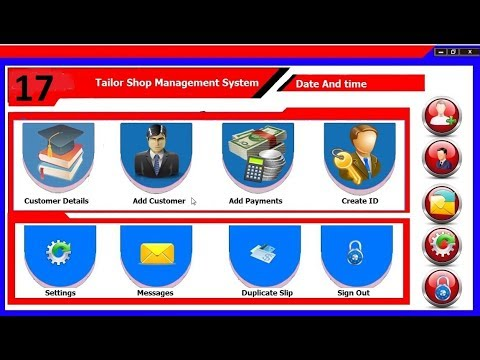 17  how to make a tailor shop management system closing option like windows 7 close button in java n