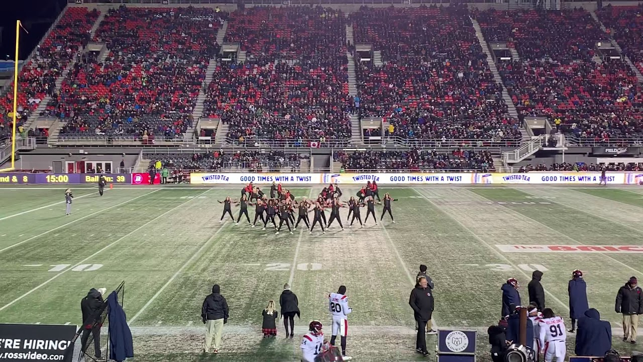 The Ottawa Redblacks Cheer & Dance Team 2019-Chun-Li