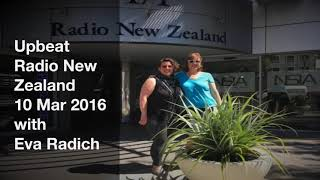 Upbeat RadioNZ interview with Eva Radich and Spatial Forces Duo