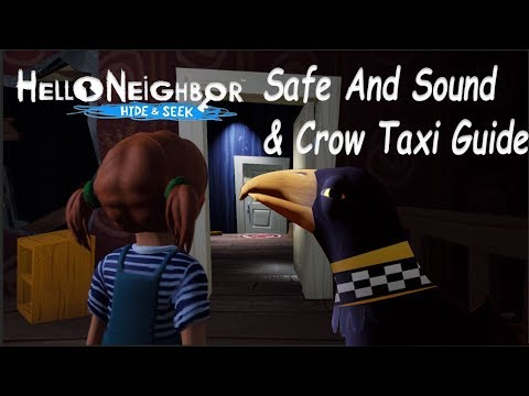Hide and Seek Safe & sound and Crow Taxi Achievements!