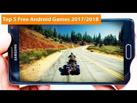Top 5 free android games 2017/2018 – 5 best android games 2017/2018 – High Graphics Games Top 5