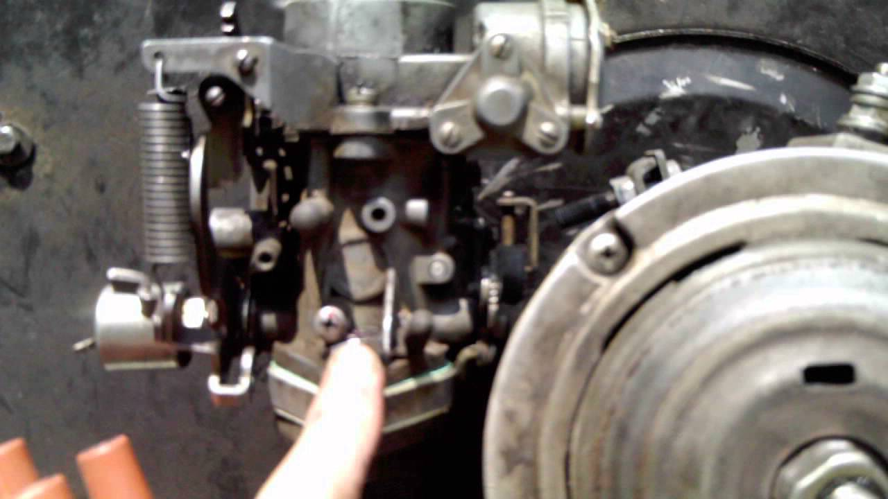 Solex Pict 34-3 Thread Repair  Carburetor Installed
