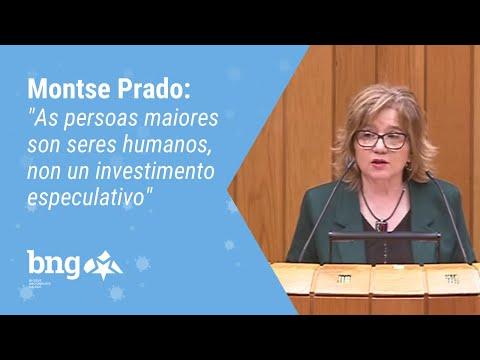 """Montse Prado: """"As persoas maiores son seres humanos, non un investimento especulativo"""""""