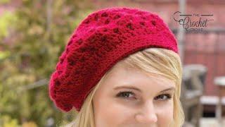 Crochet Bridgette's Beret Pattern