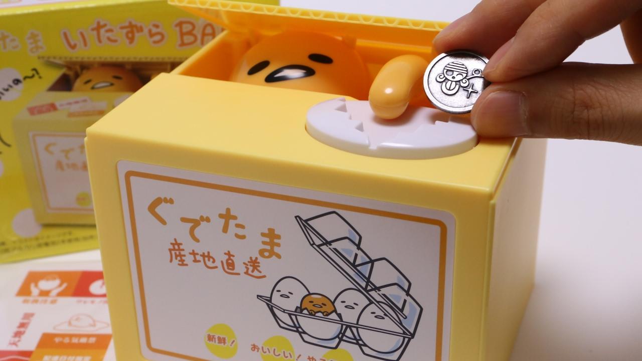 Gudetama Piggy SANRIO Japan* Bank
