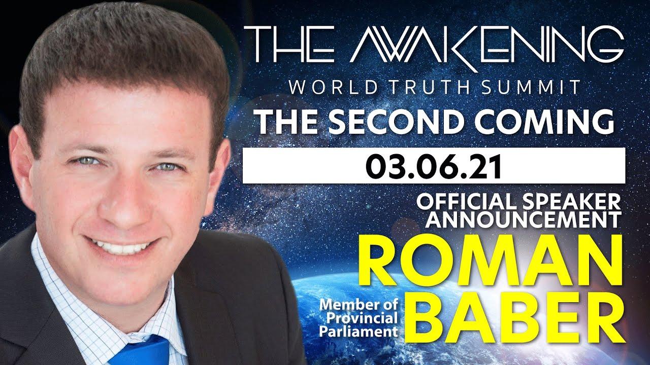 MPP Roman Baber - Speaker Announcement | The Awakening 2