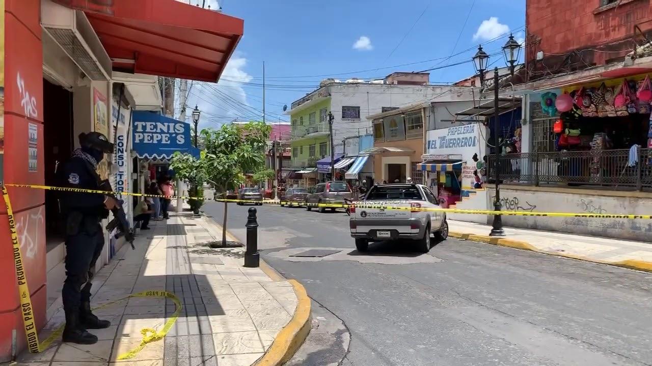 HIEREN A BALAZOS A EX ACALDE DE TLACOTEPEC