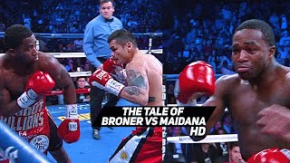 The Tale Of Adrien Broner vs Marcos Maidana HD
