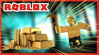 ROBLOX INDONESiA | HUNTING for gold in the LAND of 😍 SERVANTS