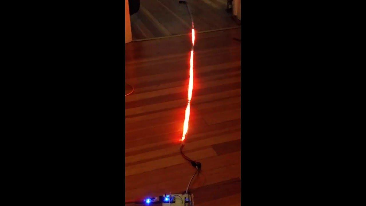 Neopixel Arduino Fire Demo