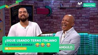 Al Ángulo: ¿Terno italiano y corbata bamba? | El imperdible ping pong a Roberto Mosquera