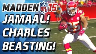 Madden 15 Ultimate Team - JAMAAL CHARLES BUSTIN