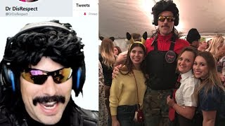 DrDisRespect Reacts to DrDisRespect Costumes from Fans!