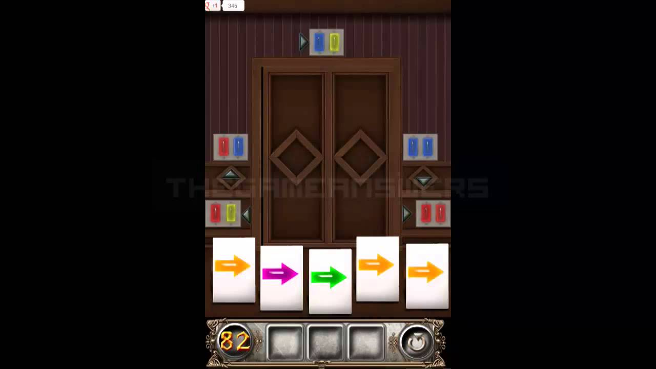 100 Doors Floors Escape Level 82 Walkthrough Guide Youtube