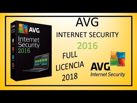 AVG INTERNET SECURITY 2016 FUll NUEVO FUNCIONA HASTA 2018 HD