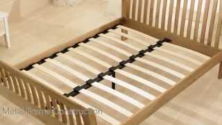Bbs Churchill Solid Oak Sleigh Bed Frame