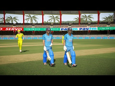 India vs Australia - 2nd ODI Match - Don Bradman Cricket 17 thumbnail