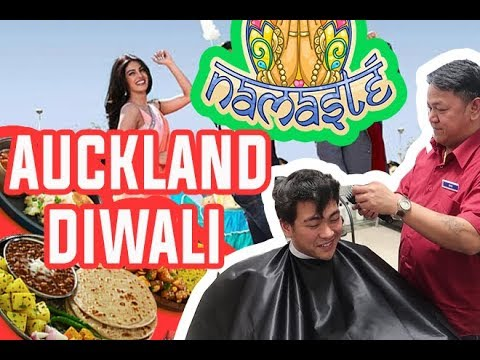 The Best Barber in NEW ZEALAND + Auckland Diwali 2017