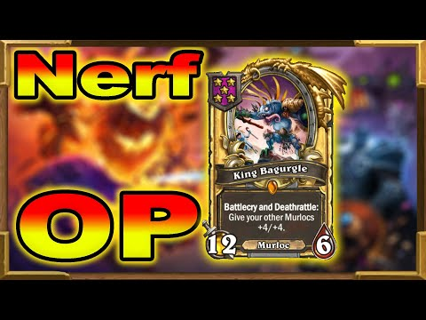 Hearthstone Battlegrounds: King Bagurgle Is OP | Nerf Incoming? IS Brann Good Enough?