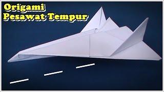 Origami Pesawat Tempur