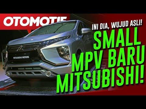 Ini Dia, Wujud Asli Small MPV Baru Mitsubishi Expander