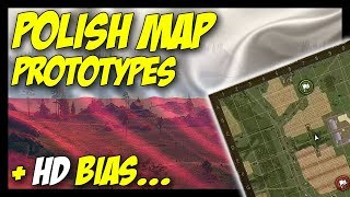 ► Polish Map Prototypes (Poland C & Studyanka) + HD Bias - World of Tanks 2018 Update News